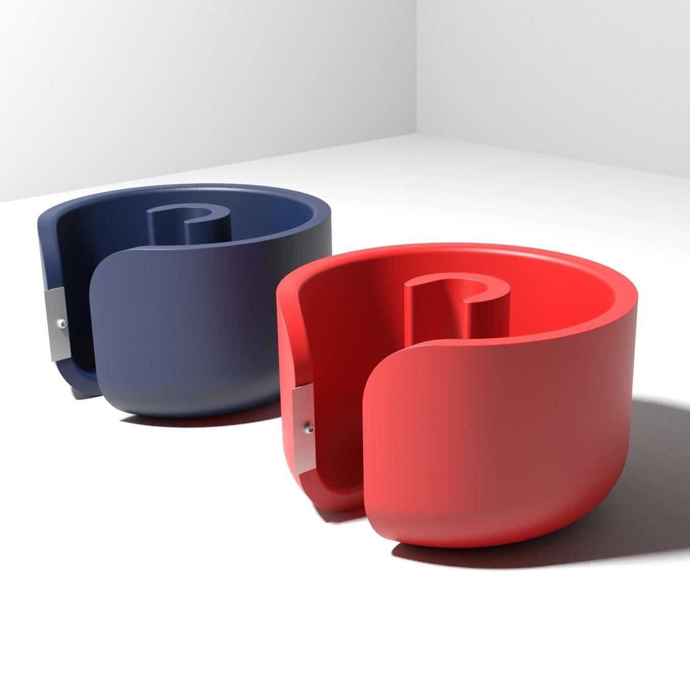 Prueba22.jpg Télécharger fichier STL Support de sol / ruban adhésif (articles de bureau et de bureau) • Modèle pour imprimante 3D, mibro
