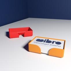 2.jpg Télécharger fichier STL Tarjetero para tarjetas de empresa o de visita • Modèle pour impression 3D, mibro