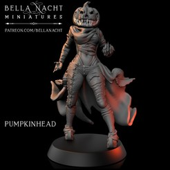 pumpkinhead.jpg Download STL file Pumpkinhead • 3D printing model, BellaNachtMiniatures