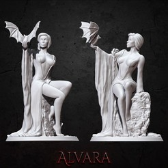 Download 3D printer templates Alvara, BellaNachtMiniatures