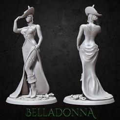 belladonna_insta.jpg Télécharger fichier STL Belladonna • Modèle pour impression 3D, BellaNachtMiniatures