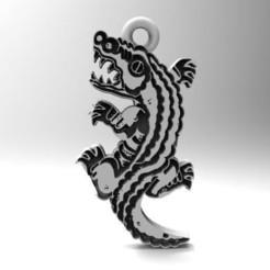 Cocodrilo .1.jpg Download STL file crocodile • 3D printable design, carle-leo