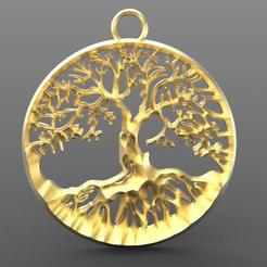 Download 3D printer templates Tree of Life, carle-leo