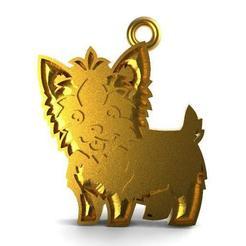 Littke dog pendant .1..jpg Download STL file Little dog pendant • 3D printer design, carle-leo