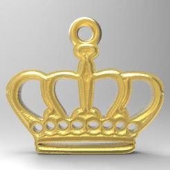 Crown 1.1.jpg Download STL file Crown • 3D printer model, carle-leo