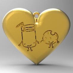 Télécharger fichier 3D Biscuit d'amour, carle-leo