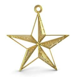 Download 3D printing files Star pendant, carle-leo