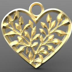 Download 3D printing templates Heart, carle-leo