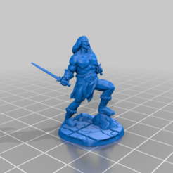 barbarian_1piece.png Download free STL file Barbarian • 3D printable object, spalominominis