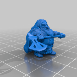 enanoSinPeana_rep.png Download free STL file Forest Dwarf • Object to 3D print, spalominominis