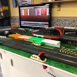 Télécharger fichier impression 3D gratuit Slot PitStop IR Arduino Mito3D Ninco Digital, Mito3D