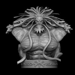 1.png Télécharger fichier OBJ Yonko Kaido a fait un buste • Modèle à imprimer en 3D, dangthailong24