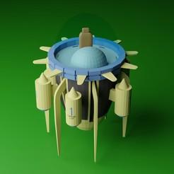 nave de trunks.jpg Télécharger fichier OBJ Machine à voyager dans le temps - Troncs-DBZ • Plan pour impression 3D, diklonius