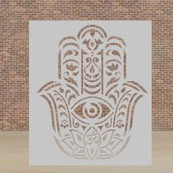 jamsa.jpg Download STL file stencil jamsa • 3D print template, diklonius