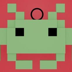 space invaders.jpg Télécharger fichier STL les envahisseurs de l'espace • Modèle pour imprimante 3D, diklonius