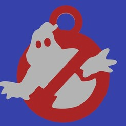 cazafantasmas.jpg Télécharger fichier STL porte-clés chasseurs de fantômes • Design pour impression 3D, diklonius