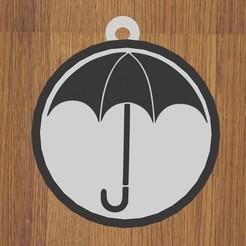 2.jpg Télécharger fichier STL KEYCHAIN l'académie de parapluie • Plan à imprimer en 3D, diklonius