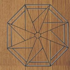 mandala 1.jpg Télécharger fichier STL PORTE-CLÉS / PENDENTIF MANDALA • Objet à imprimer en 3D, diklonius