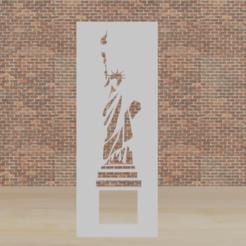 estatua de la libertad.png Télécharger fichier STL statue de la liberté au pochoir • Design pour impression 3D, diklonius