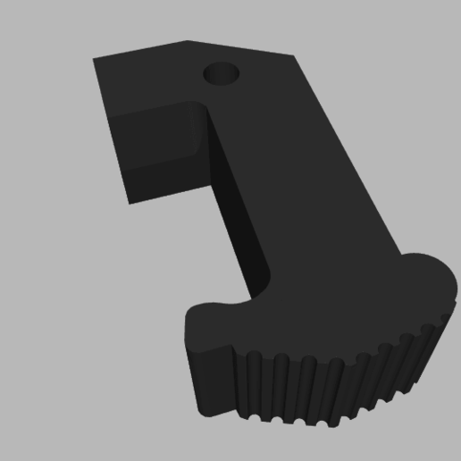 2020-05-19_16h05_10.png Download STL file MK23 PISTOL AND MAGAZINE WALL MOUNT • Template to 3D print, SANCAKTAR