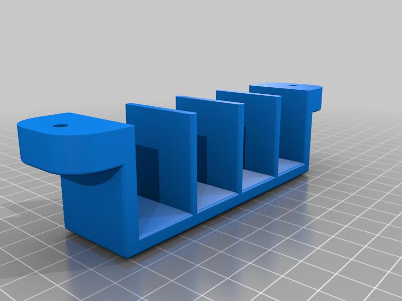 VSR10-BAR10_MAGAZINE_WALL_MOUNT.SLDPRT.png Télécharger fichier STL VSR10-BAR10 MAGAZINE WALL MOUNT • Objet imprimable en 3D, SANCAKTAR
