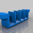 Download free STL file VSR10-BAR10 MAGAZINE WALL MOUNT • Template to 3D print, SANCAKTAR