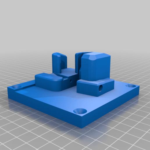 MK23_PISTOL_WALL_MOUNT_BODY.png Download STL file MK23 PISTOL AND MAGAZINE WALL MOUNT • Template to 3D print, SANCAKTAR