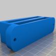 SRS_A1_DUAL_MAGAZINE_WALL_MOUNT.png Télécharger fichier STL SRS A1 DOUBLE SUPPORT MURAL POUR MAGAZINES • Plan pour impression 3D, SANCAKTAR