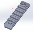 SRS_A1_-_HTI_SHORT_RAIL.png Download STL file SRS A1 - HTI SHORT RAIL • 3D printing template, SANCAKTAR