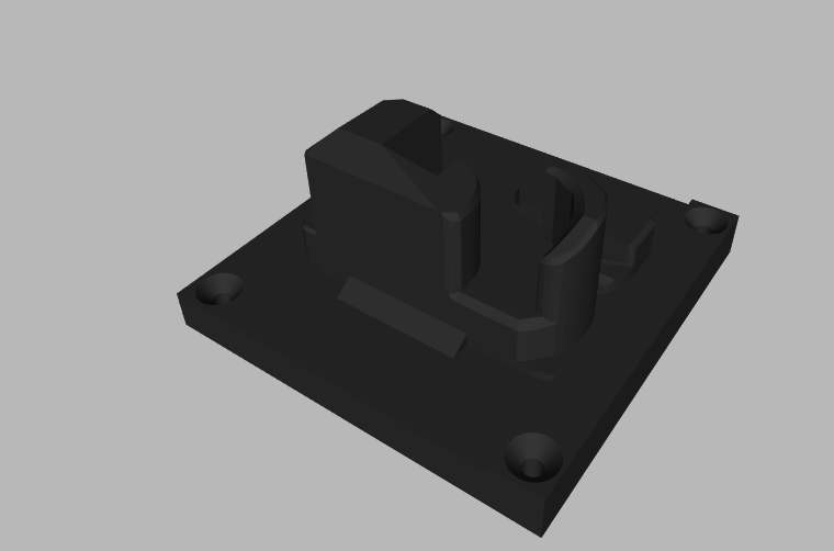 2020-05-19_16h04_51.png Download STL file MK23 PISTOL AND MAGAZINE WALL MOUNT • Template to 3D print, SANCAKTAR