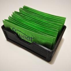 IMG_20200622_012637474.jpg Télécharger fichier STL gratuit Support de paquet d'édulcorant • Plan pour imprimante 3D, FFFTechnology