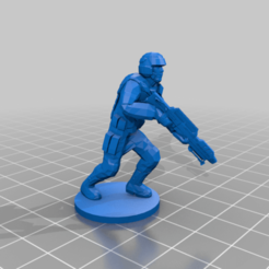 Lost_Galaxy_Marine_1.png Download free STL file Lost Galaxy Marine for Power Rangers Heroes of the Grid • 3D printer object, Zaphord