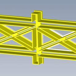 Tranquera.png Download STL file gate, gate, fence, sharp fondant, cake, pie • Design to 3D print, enriqueaquino2002