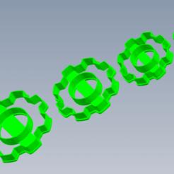 Engranaje 1.png Download STL file Gear Kit • 3D printer template, enriqueaquino2002