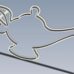 Lampara 1.png Télécharger fichier STL La lampe d'Aladin • Modèle pour impression 3D, enriqueaquino2002