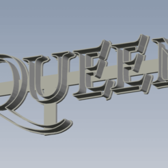 Queen.png Download STL file Queen Cutter • 3D printable template, enriqueaquino2002