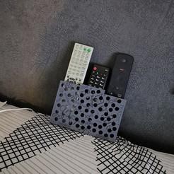 IMG_20201126_171937.jpg Télécharger fichier STL Boite pour 3 télécommandes • Plan à imprimer en 3D, posca92