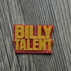 billy talent.jpg Télécharger fichier STL gratuit Le logo de Billy Talent • Objet à imprimer en 3D, TheChopsee