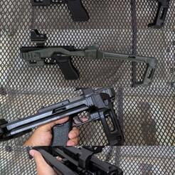 1.jpg Download STL file PDW Carbine Kit for KSC Glock 17 - Folding Stock • 3D printer template, samdrv