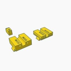 sight c.jpg Download STL file Glock Rear Front Sight set like TruGlow Box,  type c • Design to 3D print, samdrv