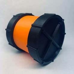 IMG_5340.JPG Download free STL file Kick Drum SD/Micro SD Card Holder • 3D printable template, ThinAirCraftworks