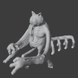 Download free OBJ file Sorry Excuse For A Cat • 3D printing template, Foxwarrior