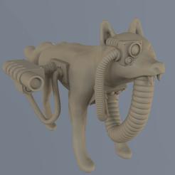 Download free 3D printer designs Full Metal Fox, Foxwarrior