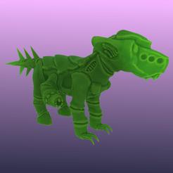 Télécharger STL gratuit Tyranifox, le mignon monstre Xenos, Foxwarrior
