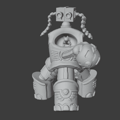 FinalizerOrderPose1.png Download STL file Marine Finalizer - Loxodon-class Tactical Dreadnought Armor • 3D print template, Foxwarrior
