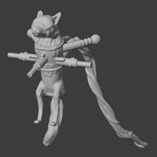 Télécharger fichier STL gratuit Servo-Fox : Équipement de vie martien • Design pour impression 3D, Foxwarrior
