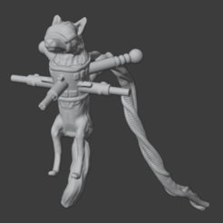 Download free 3D printing models Servo-Fox: Martian Living Equipment, Foxwarrior