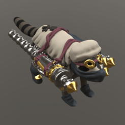 RaccoonOfDeliverance.png Download OBJ file Raccoon of Deliverance • 3D printable design, Foxwarrior