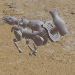 EldeerWraithGuardJog.png Download free OBJ file Eldeer Wraith Guard • Object to 3D print, Foxwarrior