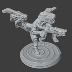 Download free 3D printer designs Hairy Xenos Flappers, Foxwarrior